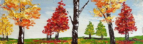Fresco verano (25 x 80 cms)