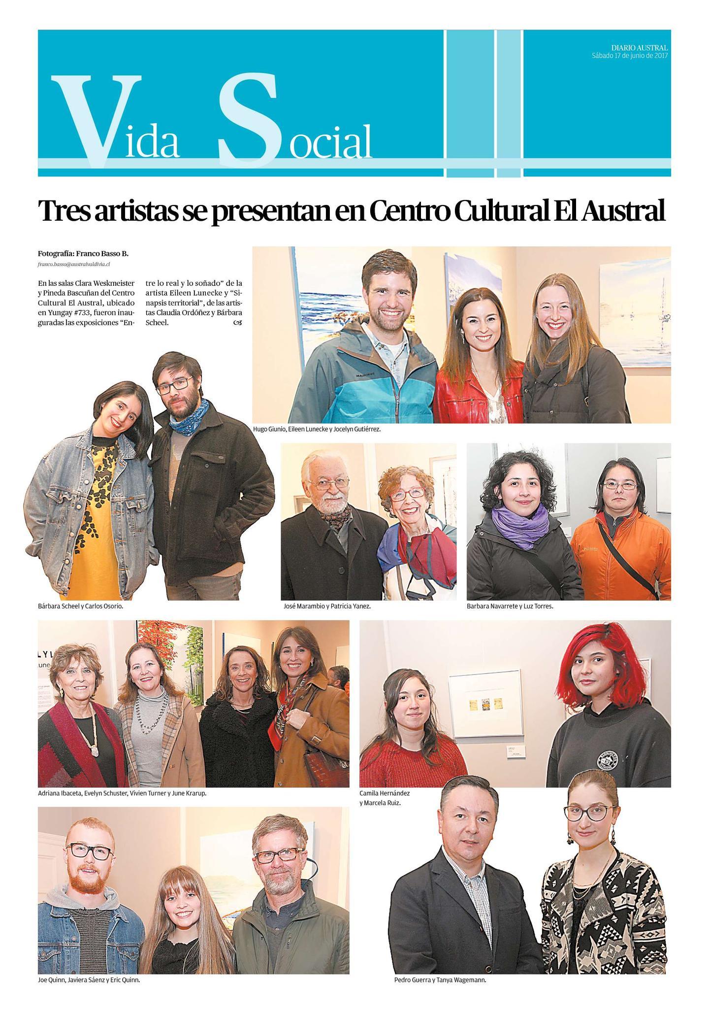 Sociales Diario Austral de Valdivia