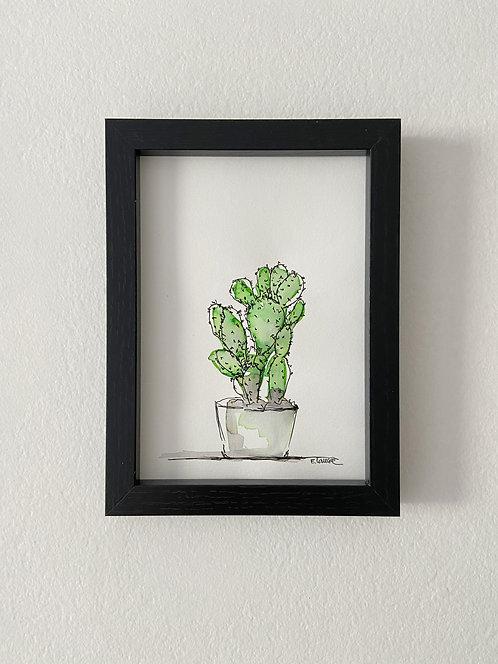 Cactus II (18 x 13 cms)
