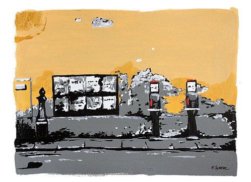 "Print de ""Texturas de Pisa"" (24 x 33 cms)"