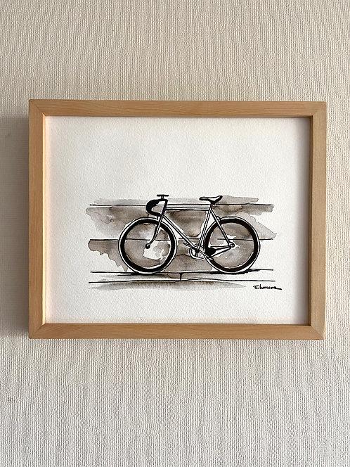 Bicicletas y rincones III (20 x 25 cms)