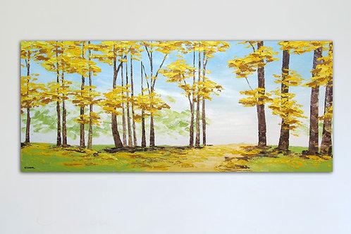 Claridad de verano (60 x 140 cms)