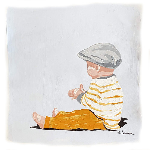 Little man (24 x 24 cms)