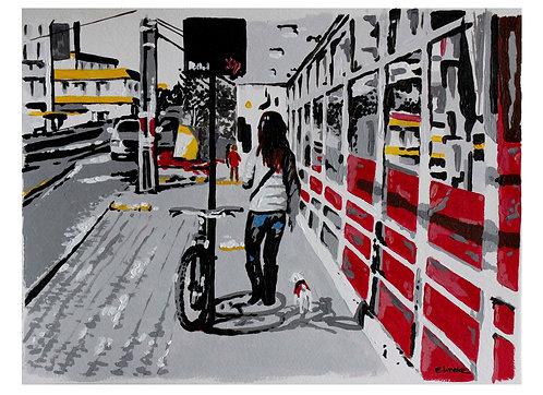 """Print de """"Vamos"""" (24 x 33 cms)"""