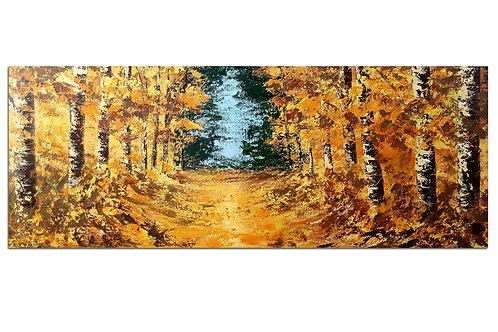 Hace algunos otoños atrás (50 x 130 cms)