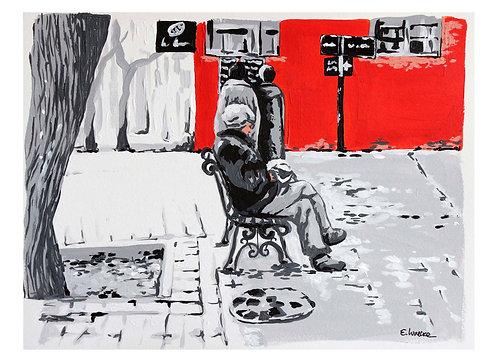 """Print de """"Tranquilidad"""" (24 x 33 cms)"""