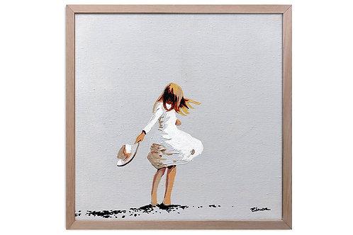 "Obra ""Libertad"" (30 x 30 cms - enmarcada)"