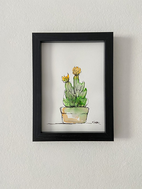 Cactus IV (18 x 13 cms)