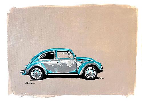 Escarabajo IV (30 x 40 cms)