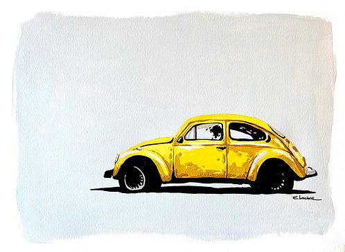 Escarabajo III (30 x 40 cms)