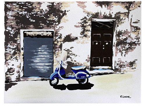 """Print de """"Detalles de Siena"""" (22 x 31 cms)"""