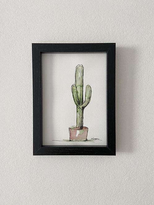 Cactus III (18 x 13 cms)