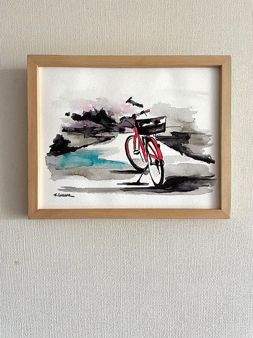Bicicletas y rincones VI (20 x 25 cms)