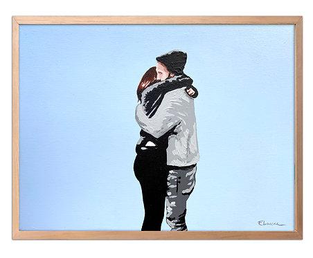 Abrazo (30 x 40 cms)