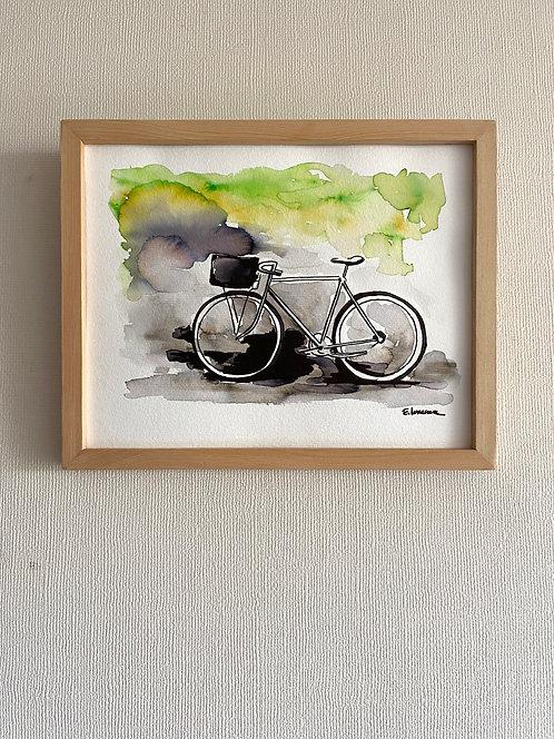 Bicicletas y rincones II (20 x 25 cms)