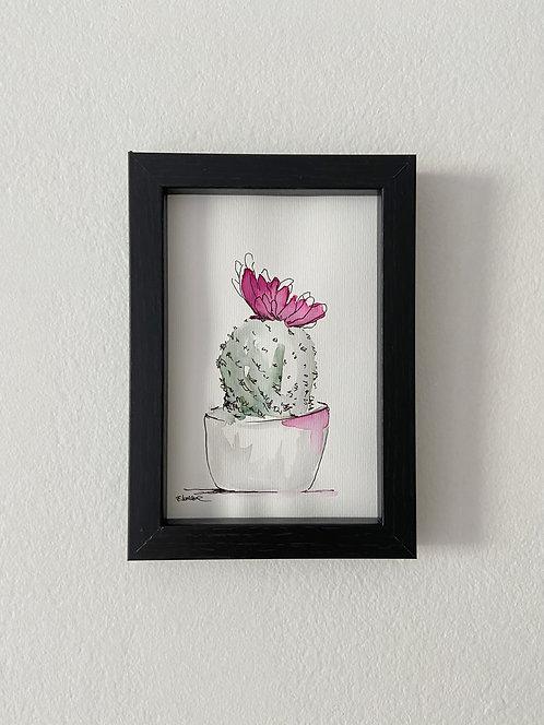 Cactus V (15 x 10 cms)