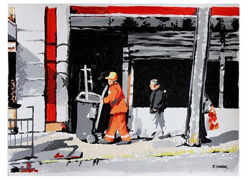 """Print de """"Labores diarias"""" (24 x 33 cms)"""