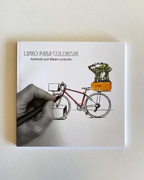 Libro para colorear ilustrado por Eileen Lunecke