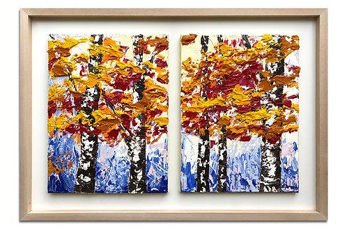 Comienzos de otoño (54 x 77 cms)