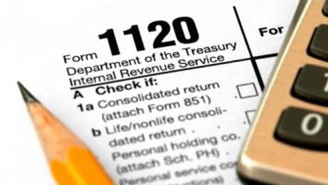 1120 Tax Form