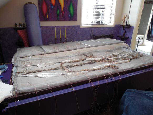 Crystal bio bed build fine wires