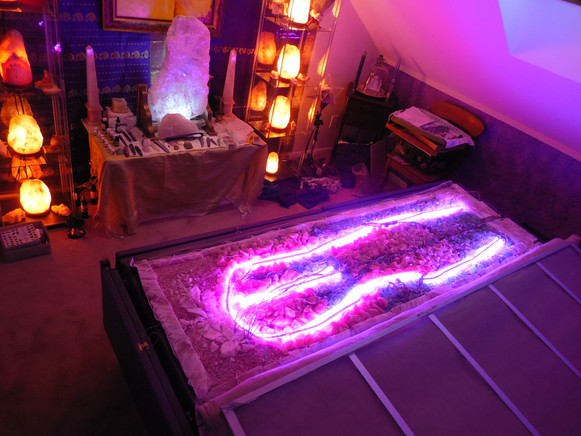 crystal bio bed builder orgone generator