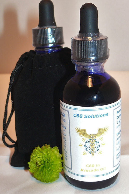 c60 in Avocado Oil ~ 2oz