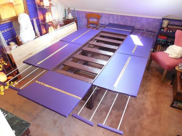 Crystal Bio Bed Table