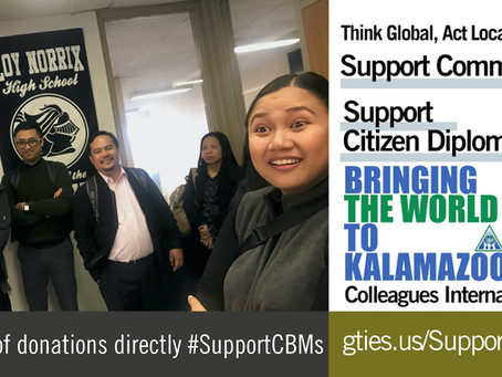 Think Global, Act Local: Support Community-Based Members of Global Ties U.S.