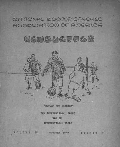 1948 NSCAA Newsletter
