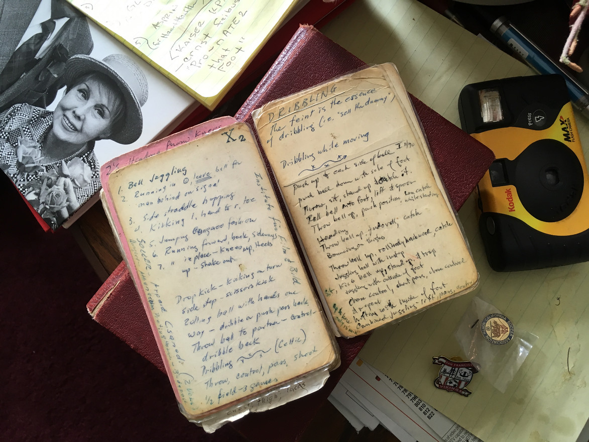 Ernie Feibusch's coaching notes