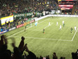 Timbers 3-1, from west stand
