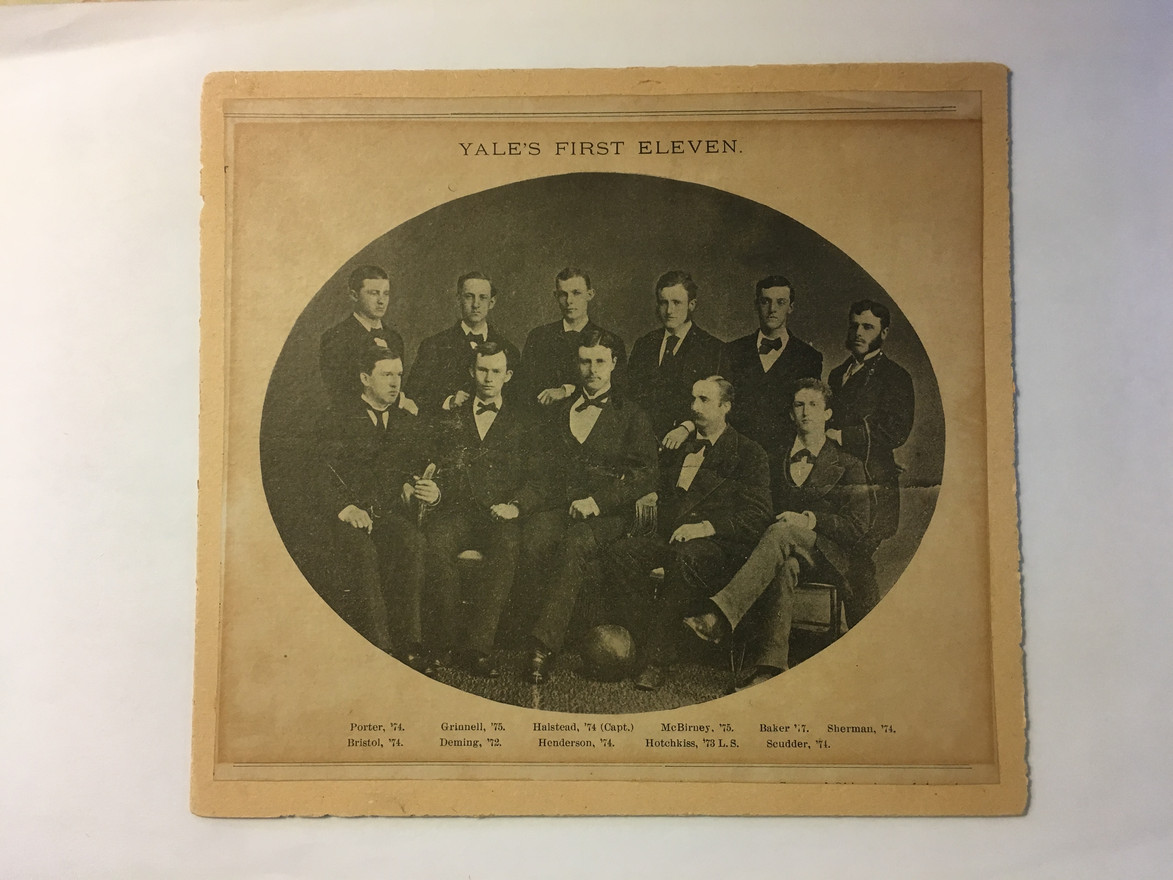 1873 | Yale's First Eleven