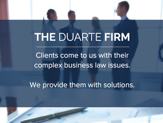The Duarte Firm Adds Two Transactional Specialists to its Team