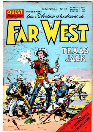French Far West Comic starring Texas Jack