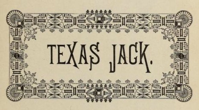 Frontispiece of Texas Jack from Famous frontiersmen, pioneers and scouts by Cattermole, E. G