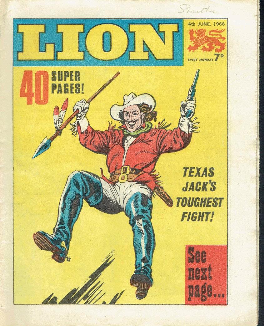 Texas Jack - Lion Comic June 4th, 1966