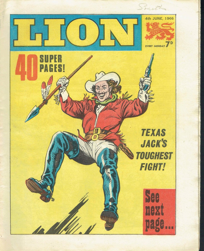 Texas Jack - Lion Comic June 4th, 1966