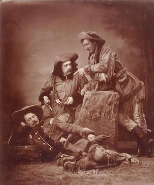 Buffalo Bill, Ned Buntline, and Texas Jack