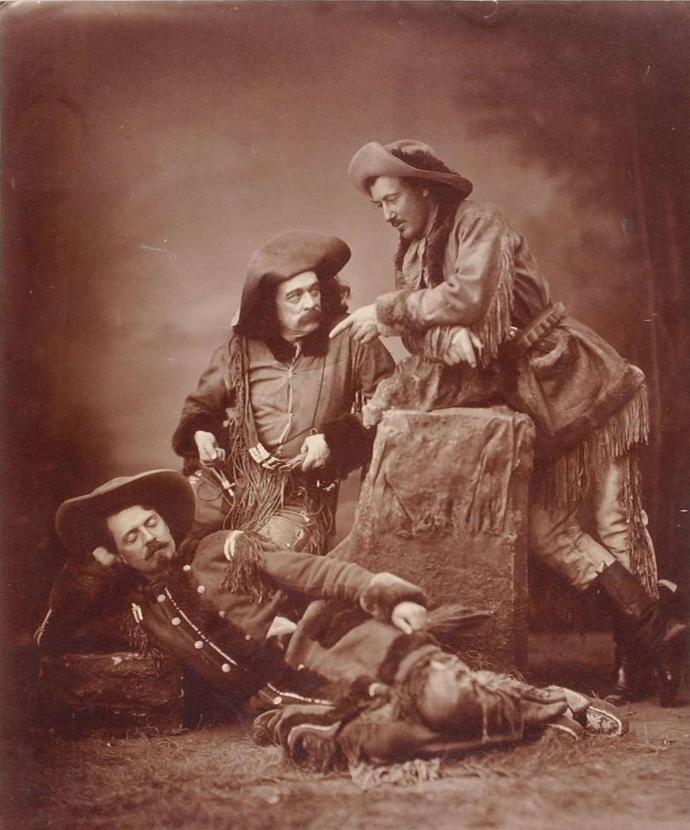 18 - BBGRAVE - Texas Jack Buffalo Bill a