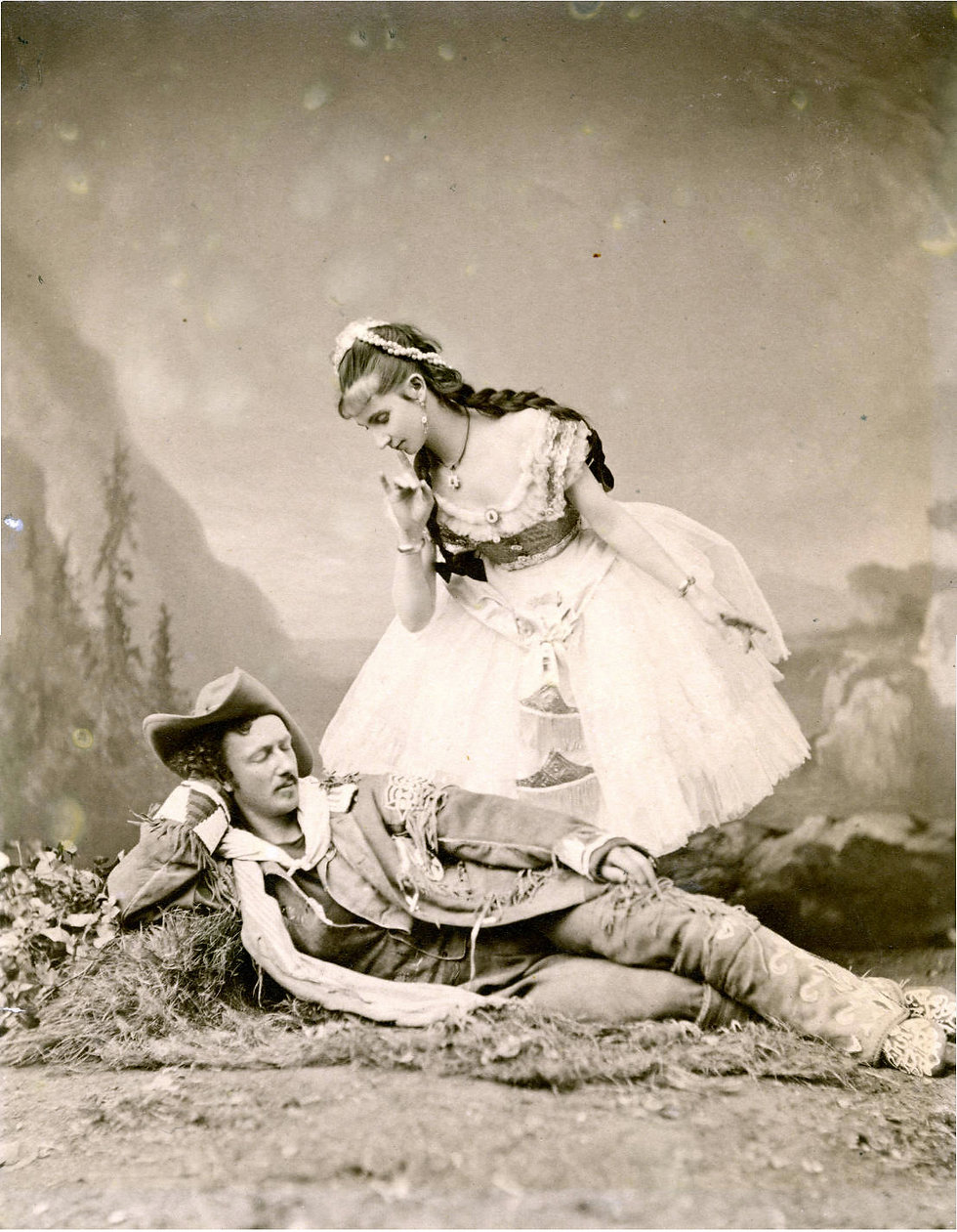 Texas Jack and Giuseppina Morlacchi