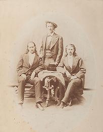 Wild Bill, Texas Jack, Buffalo Bill
