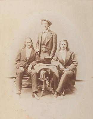 Wild Bill, Texas Jack, and Buffalo Bill