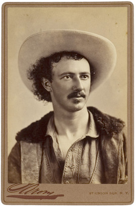 Texas Jack Cabinet Card