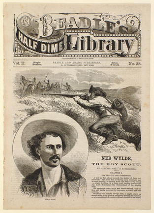 Ned Wydle the Boy Scout by Texas Jack