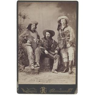 Ned Buntline, Buffalo Bill, and Texas Jack