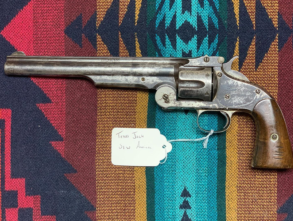 Texas Jack's Smith & Wesson First Model American Revolver
