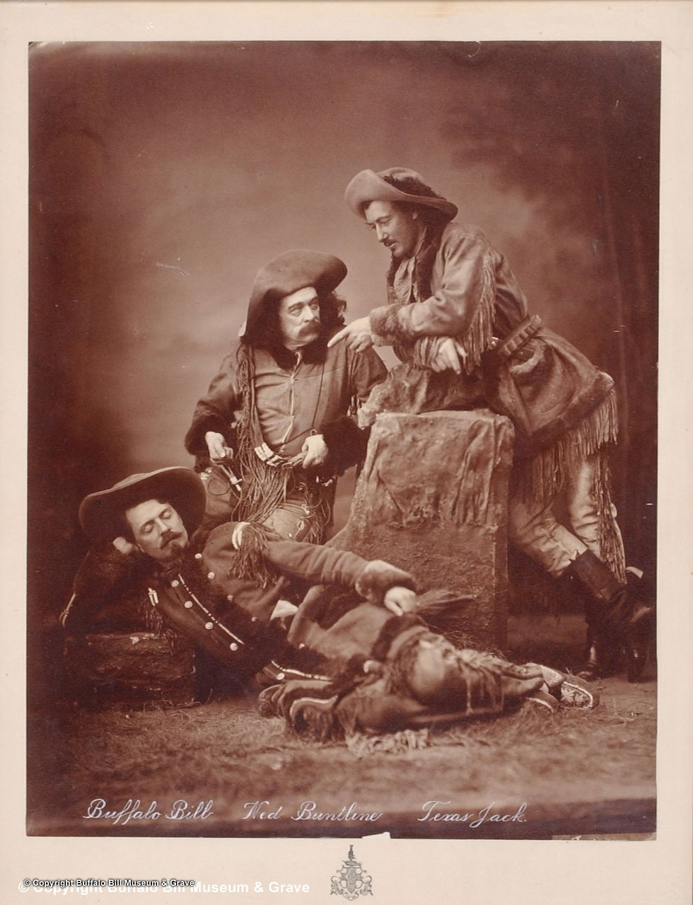 Texas Jack, Buffalo Bill, Ned Buntline