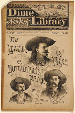 Dime Novel The League of Three