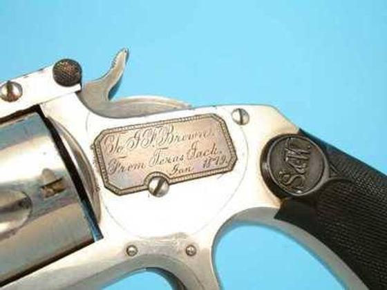Texas Jack presentation revolver